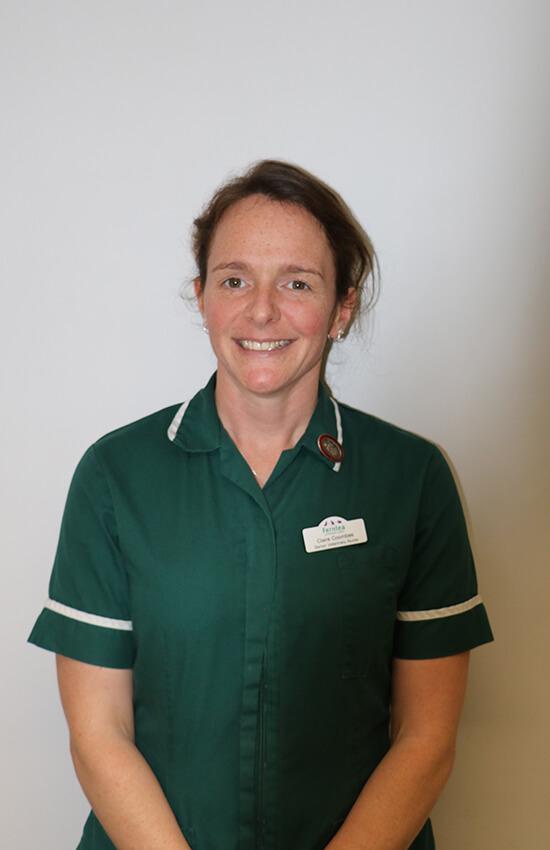 Claire Coombes nurse