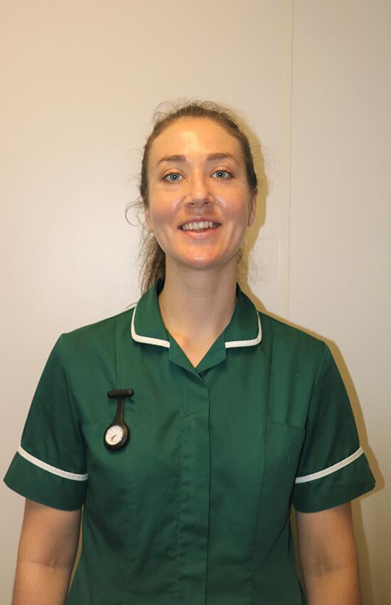 Claire Goodwin nurse