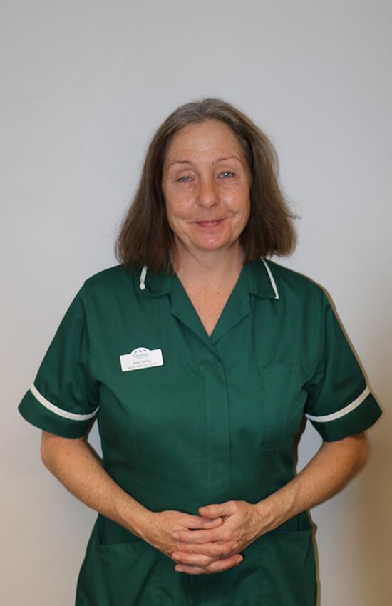 Jane Tarling Veterinary nurse