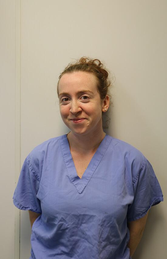 Jen Achilles Veterinary surgeon